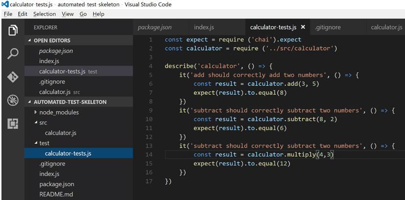 node js тестирование