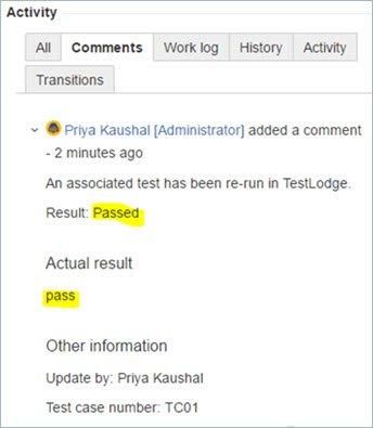 интеграция jira testlodge
