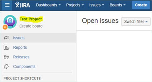 jira projects